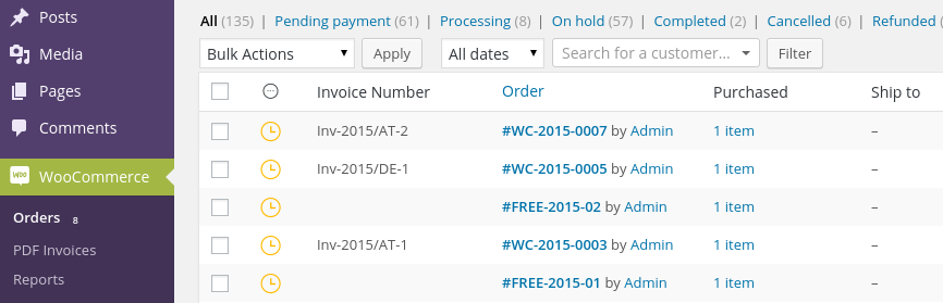 WooCommerce: Advanced Order Numbers for WooCommerce